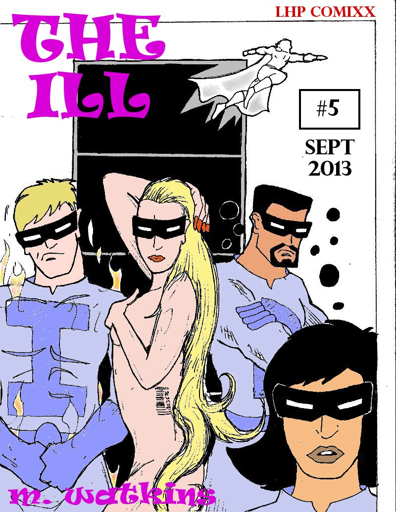 The Ill #5 cover