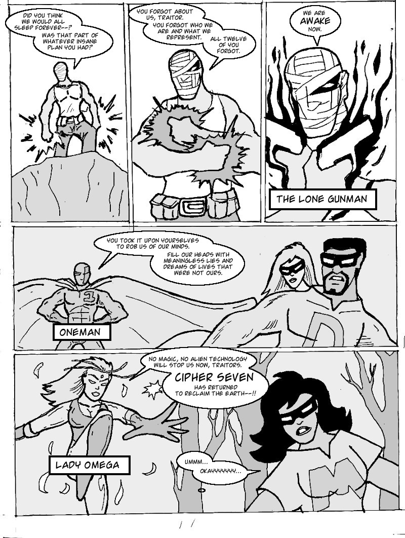 The Ill #4 page eleven
