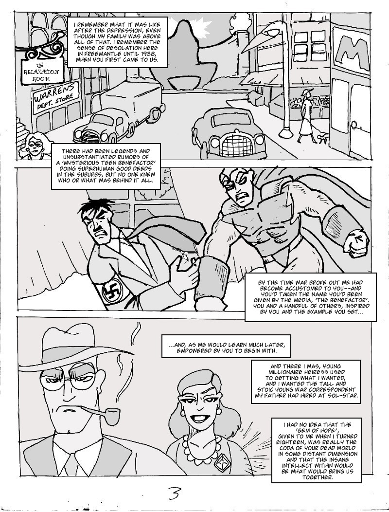 The Ill #4 page three