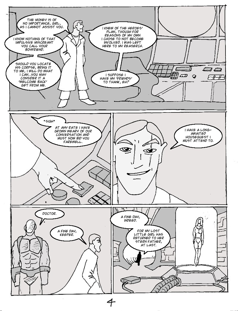 The Ill #3 page four