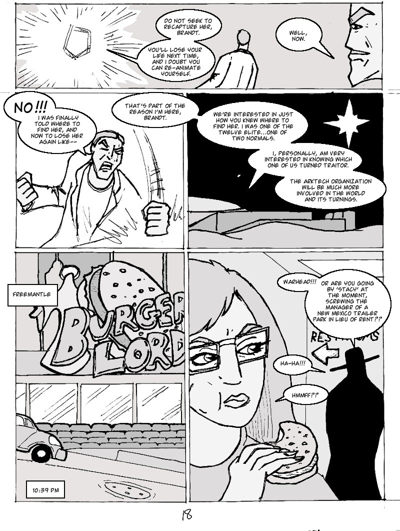 The Ill #3 page eighteen