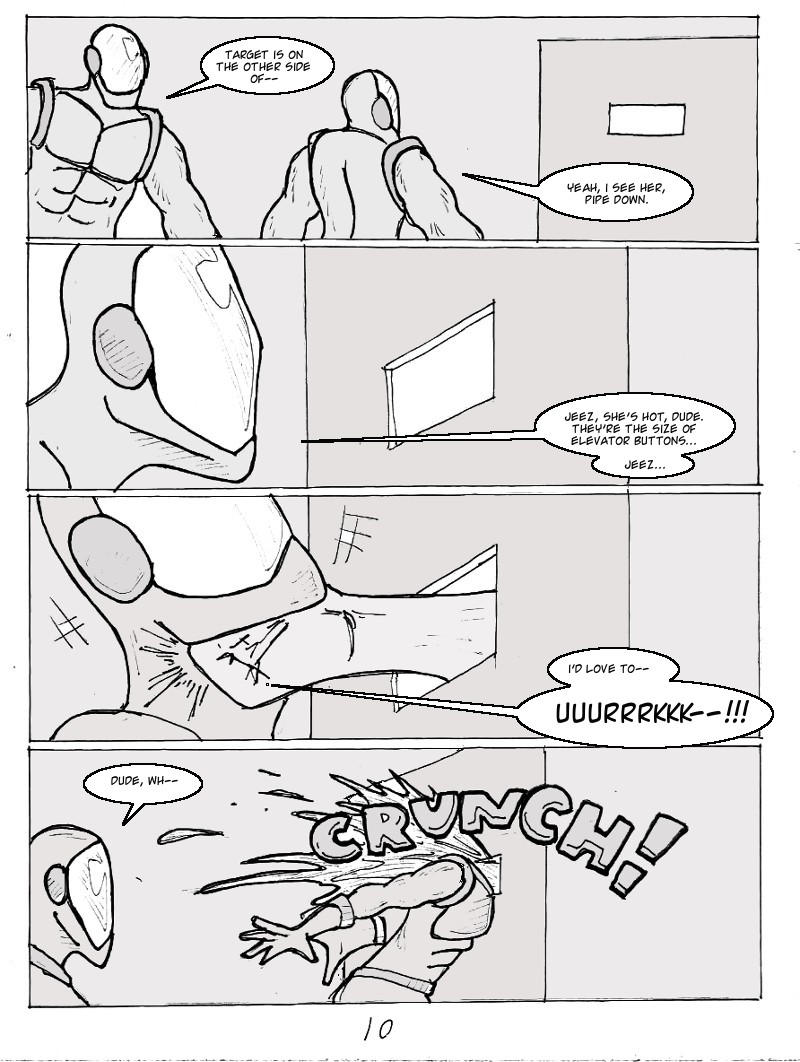 The Ill #3 page ten