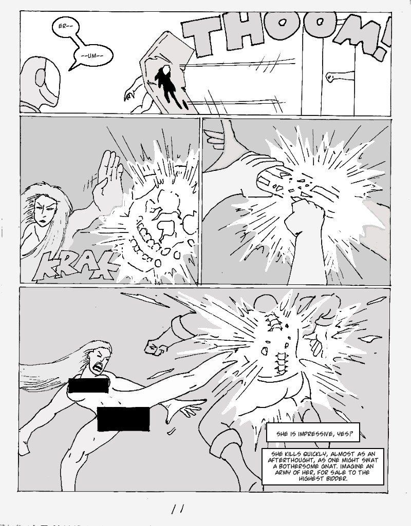 The Ill #3 page eleven