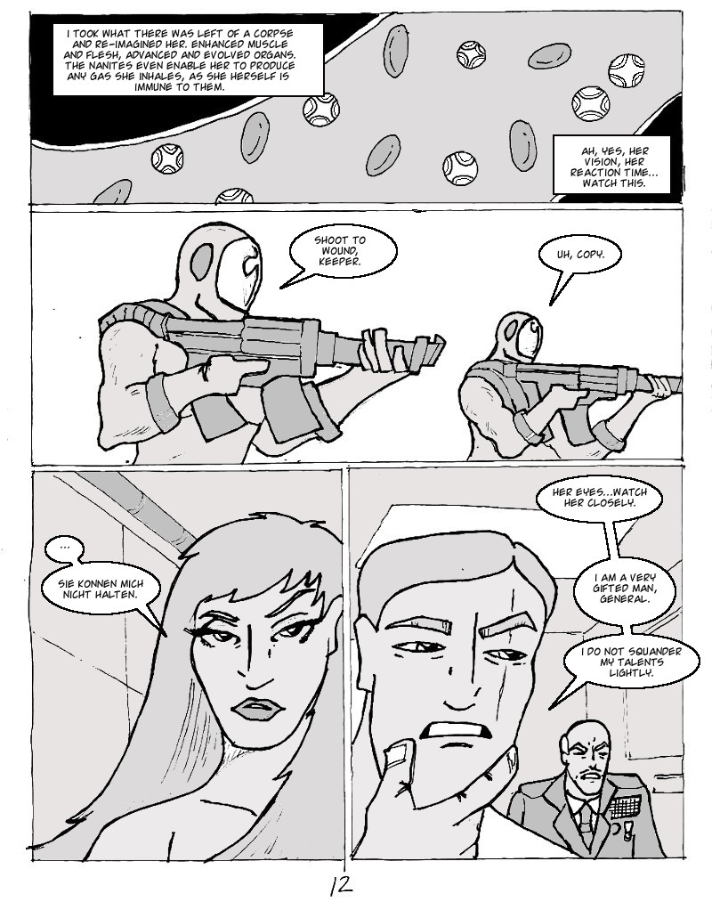 The Ill #3 page twelve
