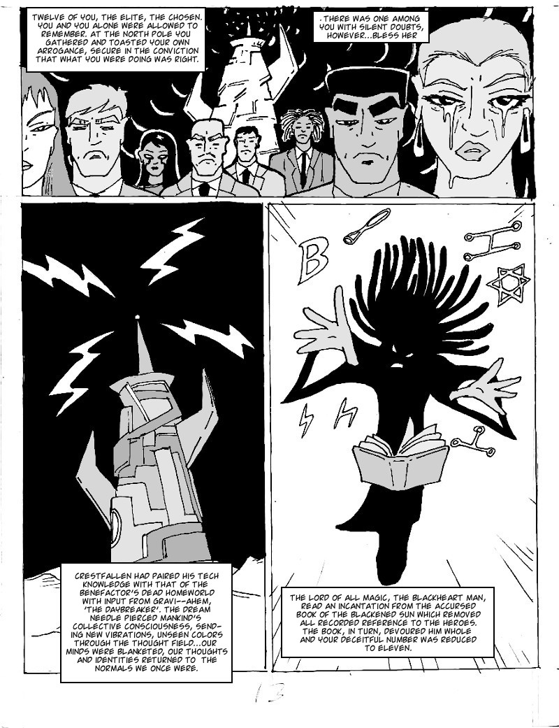 The Ill #4 page thirteen
