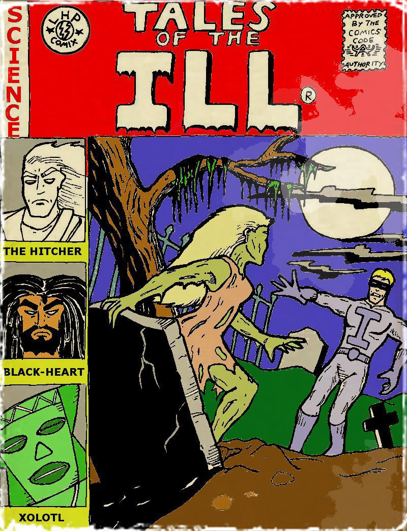 The Ill # 13 cover
